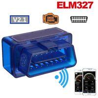 Mini OBD2 ELM327 V2.1 Bluetooth Car Scanner Android Torque Auto Scan Tool hi