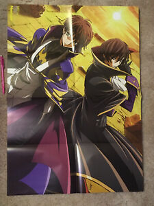 Code Geass / Attack on Titan double sided poster