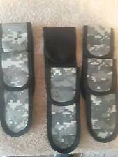 5 Nylon Digital Camo Folding Knife Sheath1 Black nylon folding knife Sheath
