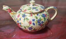"Royal Winton ""OLD COTTAGE"" CHINTZ Stacking Mini Tea Pot ..TEA POT & LID ONLY"