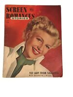 SCREEN ROMANCES MAGAZINE - April, 1948 - RITA HAYWORTH