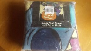 Disney Lilo & Stitch Halloween Vampire Stitch 48x60 Plush Throw Blanket
