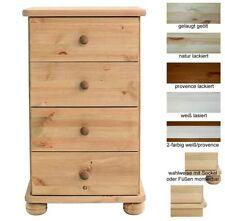 Kommoden aus Massivholz 4 Überspannungsschutze der Schubladen