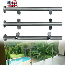 High Glass 90cm Balustrade End Post Railing Glazing 304 Stainless Steel Handrail