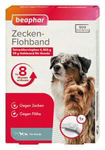 Beaphar SOS Flohhalsband 60 cm Hund Zeckenhalsband 8 Monate wirksam