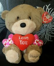 """Large Hugs 'Love You' Love & Hugs 14"""" Soft Toy (Card Factory) NEW"""
