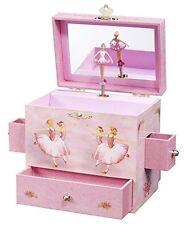 NEW Ballerina Treasure Music Box Jewelry Storage Organizer Girl Toy Vintage Gift