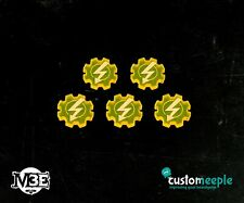 M3E Power Tokens Custom Meeple Brand New MEEP-MLF01540TK