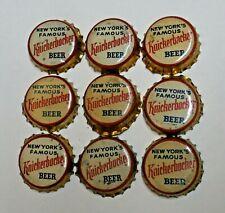 9 - KNICKERBOCKER - CORK BEER BOTTLE CAPS - NEW YORK, NEW YORK