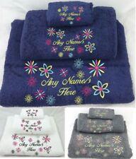 Unbranded Floral Bath Towels