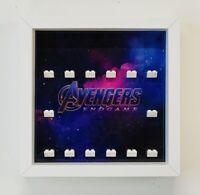 Minifigures Display Case Frame Lego Marvel Avengers Endgame Minifigs Figures