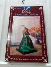 Vintage Doll Showcase Display Box 13 inches  New in Box