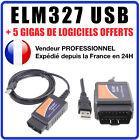 OBD2 OBDII V1.5 ELM327 USB CAN BUS Voiture Interface Diagnostic Scanner Logiciel