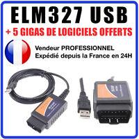 ELM327 USB Cable Valise Diagnostique Automobile INTERFACE MULTIDIAG AUTEL VCDS