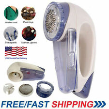 Portable Electric Lint Remover Hair Ball Trimmer Sweater Cloth Shaver + Battery