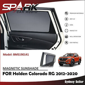 MAGNETIC CAR WINDOW SUN SHADE BLIND REAR DOOR FOR HOLDEN COLORADO 2012-2020 AD