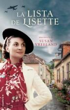 La lista de Lisette (Spanish Edition)  (ExLib) by Susan Vreeland