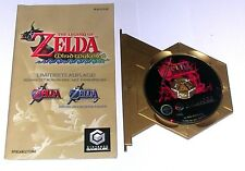 "GAMECUBE jeu ""The Legend of Zelda Ocarina of Time + Master Quest bonus CD"