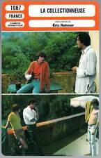 LA COLLECTIONNEUSE - Patrick Bauchau,Eric Rohmer (Fiche Cinéma) 1967