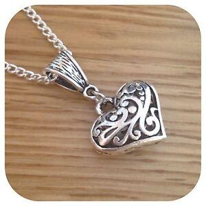 vampire love pendant heart necklace