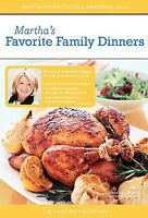 The Martha Stewart Cooking Collection - Martha's Favorite Family Dinners, New DV