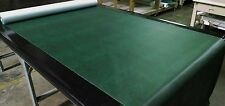 """10 YARDS ANTIQUE GREEN FAUX LEATHER AUTO UPHOLSTERY FABRIC VINYL 54""""W PLEATHER"""