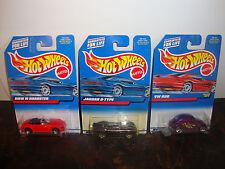 Hot Wheels--Lot Of 3--BMW M Roadster #100--Jaguar D #180--VW Bug #171---Lot #4