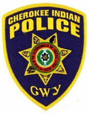 CHEROKEE INDIAN POLICE NORTH CAROLINA NC NEW COLORFUL PATCH SHERIFF
