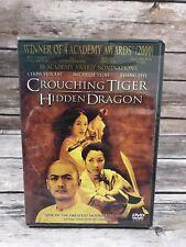 Crouching Tiger, Hidden Dragon (Dvd, 2000) Chow Yun Fat Zhang Ziyi Ang Lee New