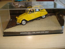 Véhicules miniatures bleu pour Citroën