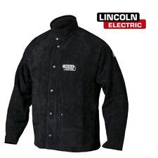 Genuine Lincoln K2989 M Heavy Duty Leather Welders Welding Jacket Size M