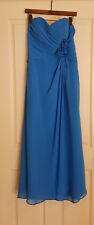 Alfred Angelo Dress - Blue Women Formal Dress Wedding Prom Bridesmaid Gown