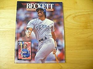 Beckett Baseball Card Monthly Magazine - March 1994 (Juan Gonzalez) - VINTAGE