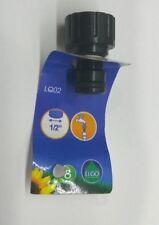 """Adaptador plástico grifo c/rosca 1/2"""" LQ02 [Liquidación]"""