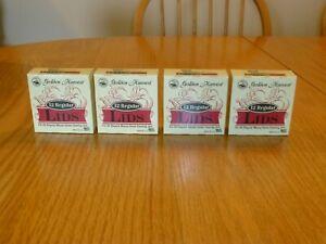 Golden Harvest Regular Mouth Canning Jar Lids 4 Boxes 48 Lids New Sealed In Box