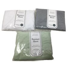 3 Pack Knitted Jersey Bassinet Sheet American Baby