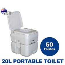 20L 50 Flushes  Outdoor Portable Camping Toilet Travel Caravan