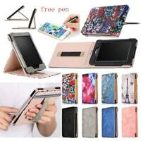 For Amazon Kindle Paperwhite 1 2 3 4 E-reader Folio Smart PU Leather Case Cover