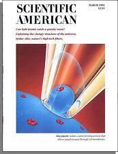 Scientific American - 1992, March - Spider Silk, Aromatic Compound Stability