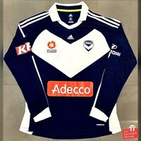 Adidas Melbourne Victory 2011-13 Formotion Player Issue L/S Home Jersey.