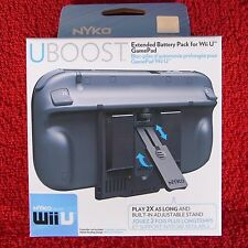 UBOOST NYKO For Nintendo Wii U ~ Accessory - Extended battery pack for GamePad