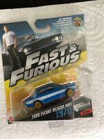 Fast and Furious Ford Escort  1970  die cast model car