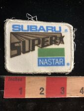 Vtg SUBARU SUPER NASTAR SNOW SKING Advertising Patch 93J7
