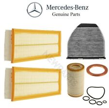 NEW Mercedes-Benz C207 W204 W212 X204 Set of Cabin Air Oil Filters Kit Genuine