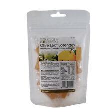 Nature's Goodness Olive Leaf Lozenges with Vitamin C Manuka Honey Lemon 200g