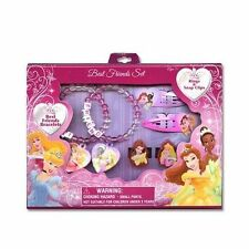 Disney Princess Best Friends Bracelet Set w/additional Rings & Accessories by Je