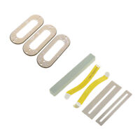 3PCS Guitar Pickups Frames with 1 Set Luthier Tool for Electric Guitar