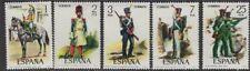Español de uniformes militares de España SG2410/4 1976 estampillada sin montar o nunca montada