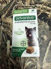 Advantus Soft Dog Flea Chews #7 4-22 Lbs