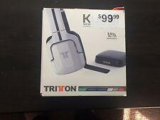 (WHITE) Tritton headset